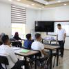 """Palestine Polytechnic University (PPU) -  كلية المهن التطبيقية تعقد محاضره عملية  لطلبتها بعنوان """" العمل الحر المستقل في فلسطين."""""""