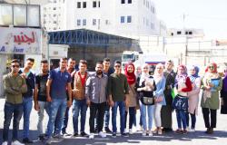 Palestine Polytechnic University (PPU) - كلية المهن التطبيقية تنظم  زيارة تعليمية إلى شركة الجنيدي لصناعة الالبان في الخليل