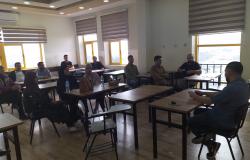 Palestine Polytechnic University (PPU) - دائره المهن  الهندسية الميكانيكية والكهربائية  تعقد اجتماع مع مدرسي العمل الجزئي