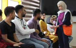 Palestine Polytechnic University (PPU) -  كلية المهن التطبيقية تعقد دورة مهارات حياتية Life Skills بالتعاون مع جمعية الهلال الاحمر